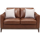 Berkley Leather Loveseat
