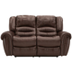 Cole Leather Power Loveseat