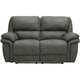 Skye Microfiber Power Reclining Loveseat