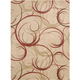 Mirage Scroll 4' x 6' Area Rug