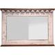 Pueblo White Bar Mirror
