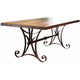 Antique Counter Height Dining Table