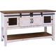 Pueblo White Console Table