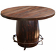 Antique Barrel Dining Table