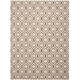 Glistening Nights Beige Area Rug, 5'3 x 7'6