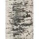 Maxell Ivory and Gray Area Rug, 5'3 x 7'3