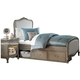 Kensington Twin Upholstered Panel Bed w/ Storage