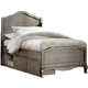 Kensington Twin Panel Bed w/ Storage