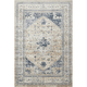 Malta Beige and Blue Area Rug, 5'3 x 7'7