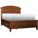 Kylie Full 2-sd. Storage Platform Bed