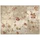 Acadia Gray Floral Area Rug, 7'9 x 10'10