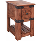 Parota II Chairside Table