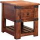 Parota Chairside Table