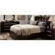 Wall Street 4-pc. Queen Leather Platform Bedroom Set w/ Storage Bed