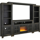 Pearson 4-pc. Wall Unit with Glass Stone Insert