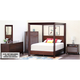 Canali 4-pc. King Canopy Bedroom Set