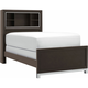Wiley Twin Bookcase Bed