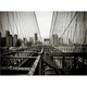 City Bridge Gallery-Wrapped Canvas Wall Art