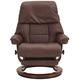 Stressless LegComfort Ruby Medium Recliner w/ Power Footrest