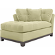 Cindy Crawford Home Metropolis Microfiber Left-Arm-Facing Chaise Lounge