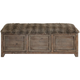 Truett Wooden Storage Bench