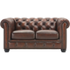 Hutchinson Leather Loveseat