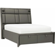 Orion King Platform Storage Bed