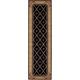 Ashton House Black Runner Rug, 2' x 5'9