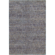 Reed Purple and Gray Runner Rug, 1'10 x 3'2