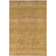 Reed Gold and Yellow Runner Rug, 1'10 x 3'2