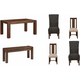 Middlefield 6-pc. Dining Set w/ Mixed Chairs and Bench