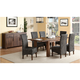 Middlefield 7-pc. Dining Set W/ Woven Chairs