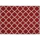 Coakley Red Area Rug, 7'10 x 9'10