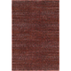 Reed Red and Rust Area Rug, 5'3 x 7'3