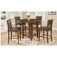 Cally 5-pc. Counter-Height Dining Set