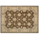 Persian Empire Chocolate Floral Area Rug, 5'3 x 7'5