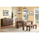 Middlefield 4-pc. Dining Set w/ Upholstered Chairs and Bench