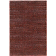 Reed Red and Rust Area Rug, 1'10 x 3'2