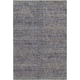 Reed Purple and Gray Area Rug, 6'7 x 9'6