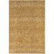 Reed Gold and Yellow Area Rug, 5'3 x 7'3