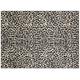Dharma Ivory and Black Area Rug, 7'10 x 9'10