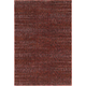 Reed Red and Rust Area Rug, 6'7 x 9'6