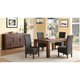 Middlefield 5-pc. Dining Set w/ Woven Chairs