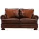 Foster Leather Loveseat