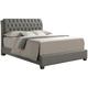 Marilla Upholstered King Bed