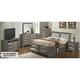 Marilla 4-pc. King Upholstered Captain's Bedroom Set