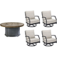 Morrissey Sutter 5-pc. Outdoor Chat Set
