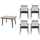 Epicenters Austin Darrow 5-pc. Outdoor Square Dining Set