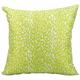 Mina Victory Leopard Green Outdoor Throw Pillow