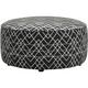 Fusion Furniture, Inc. Daine Round Ottoman